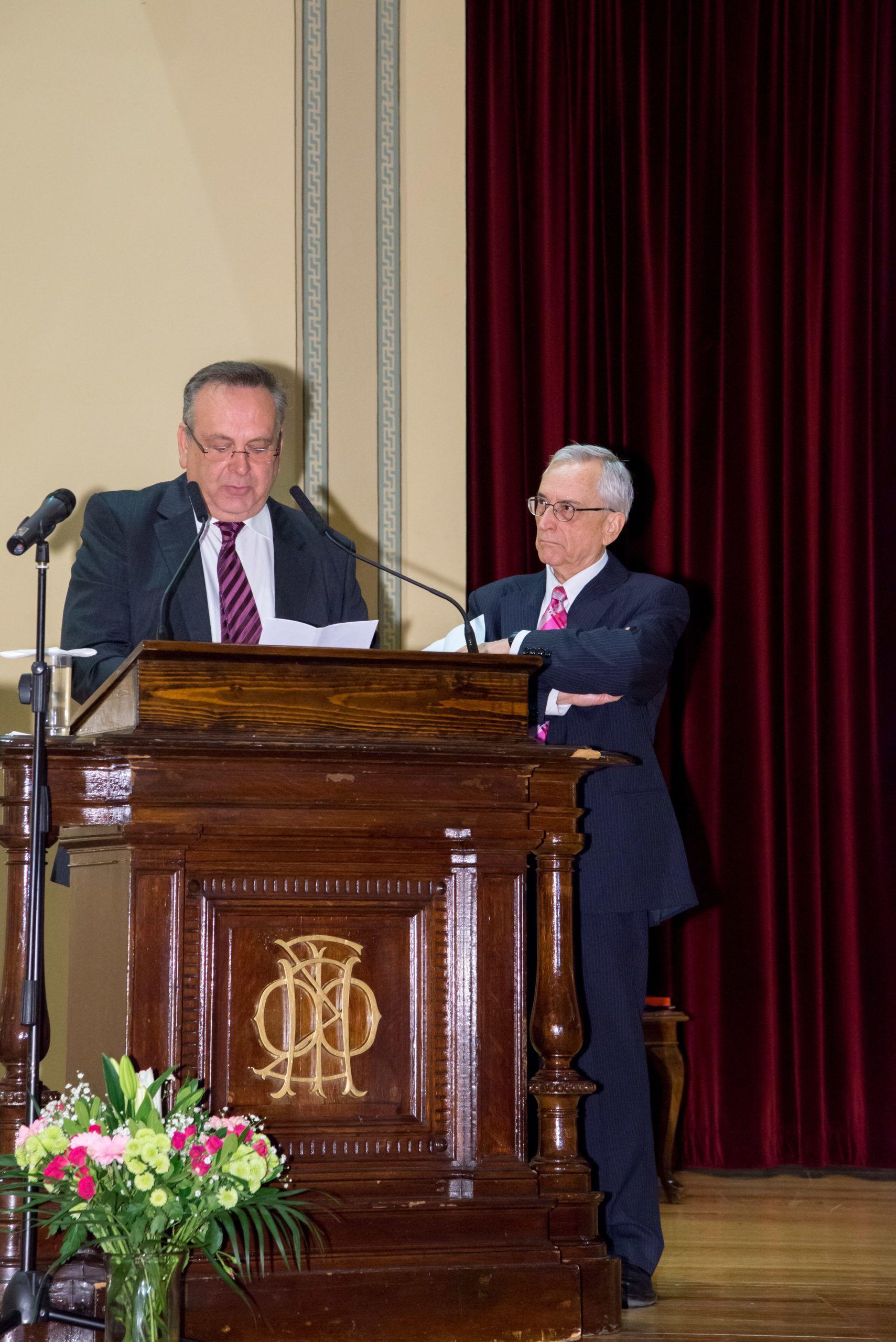 Ομιλία Προέδρου κ. Πανουσόπουλου Σταύρου στην επετειακή εκδήλωση για τη συμπλήρωση των είκοσι χρόνων του Κέντρου Οικουμενικού Ελληνισμού