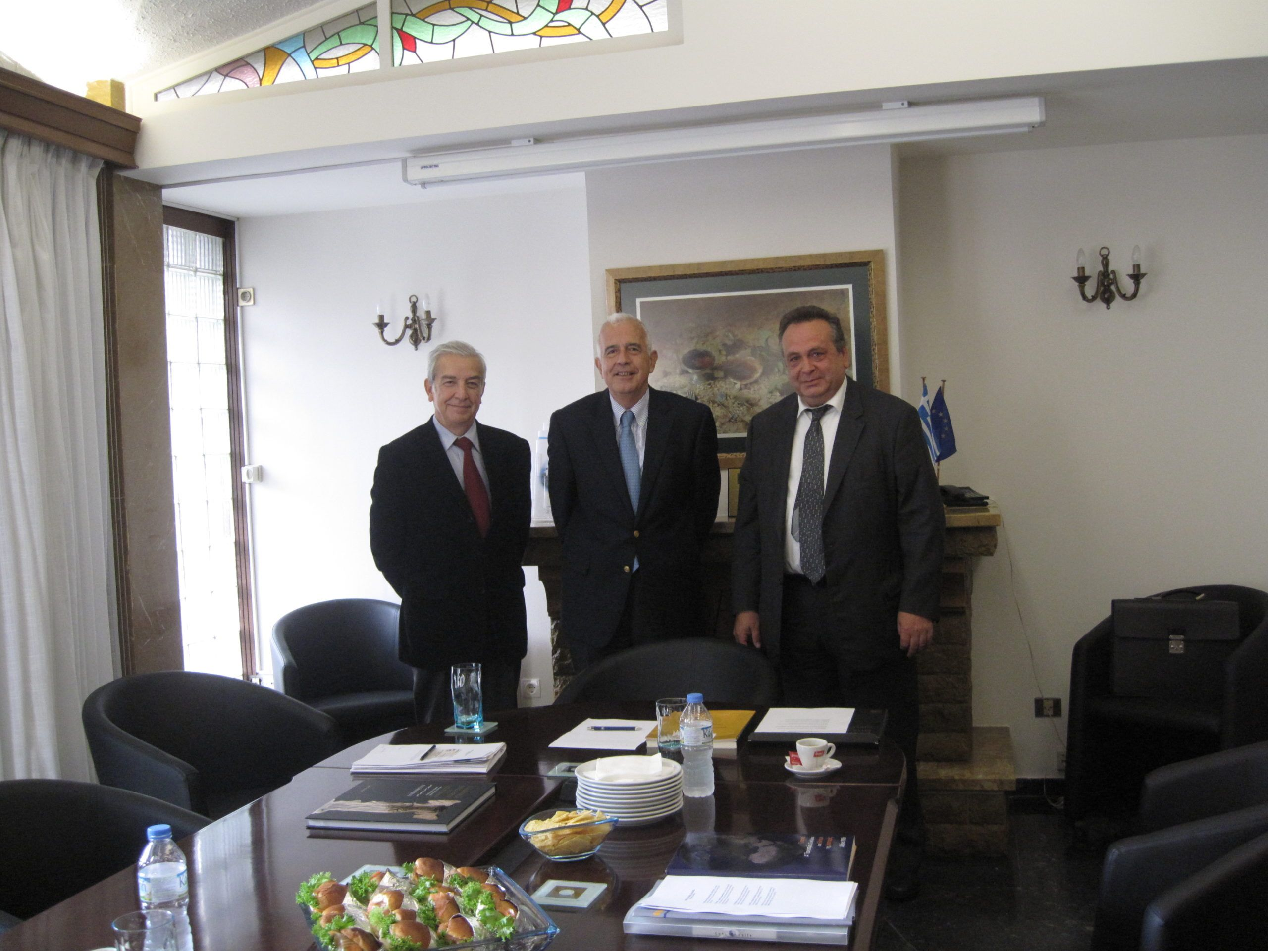 Read more about the article Meeting of the President of Ecumenical Hellenism with the President of the Federation of Greek Food Industries (SEVT)