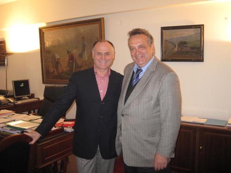 Δελτίο Τύπου συνάντησης με τον Γ.Γ. Υπουργείου Αγροτικής Ανάπτυξης κ. Γεώργιο Κανελλόπουλο