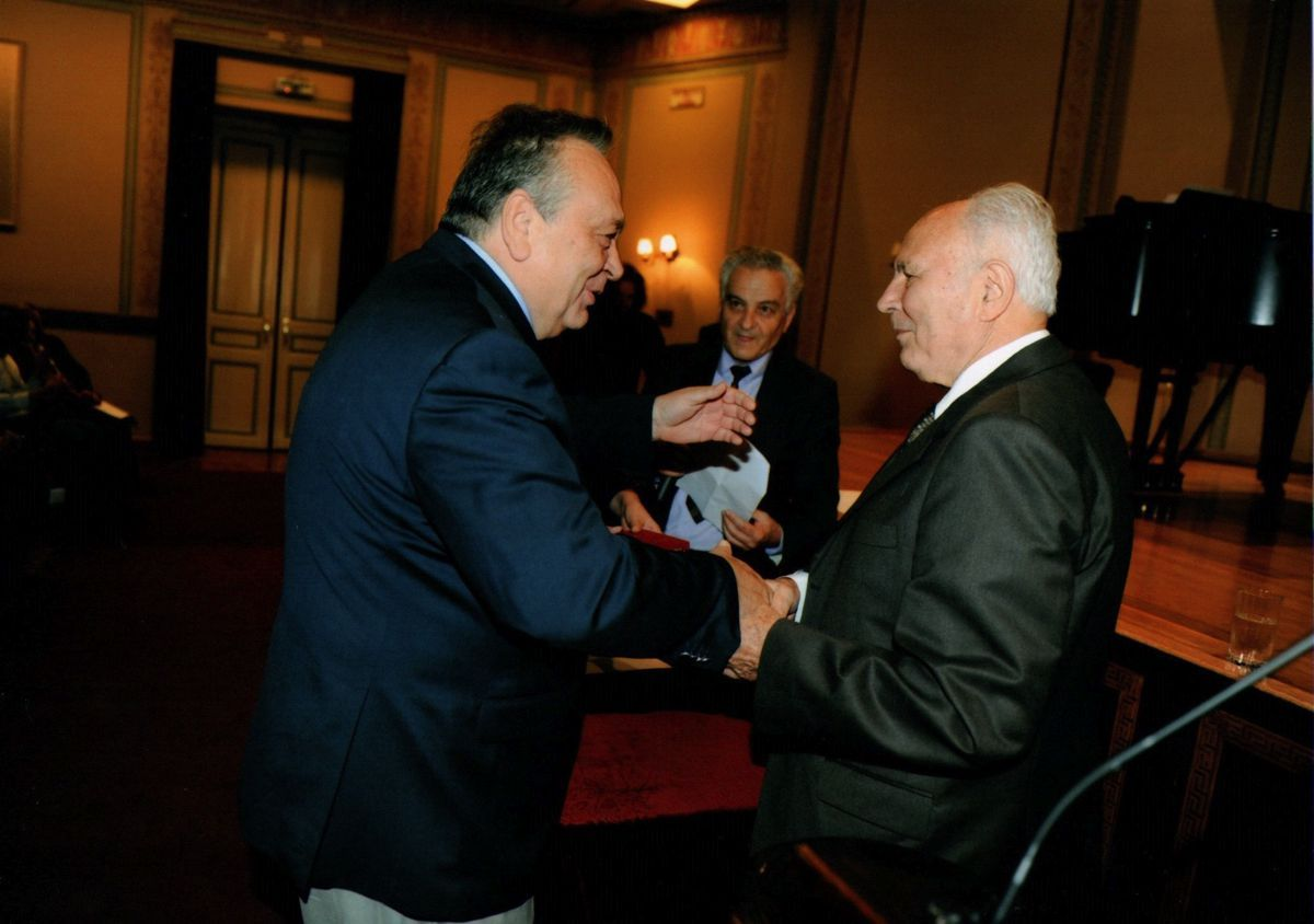 Μεγάλη τιμή για τον Πρόεδρο του Μελάθρου Οικουμενικός Ελληνισμός κ. Σταύρο Πανουσόπουλο