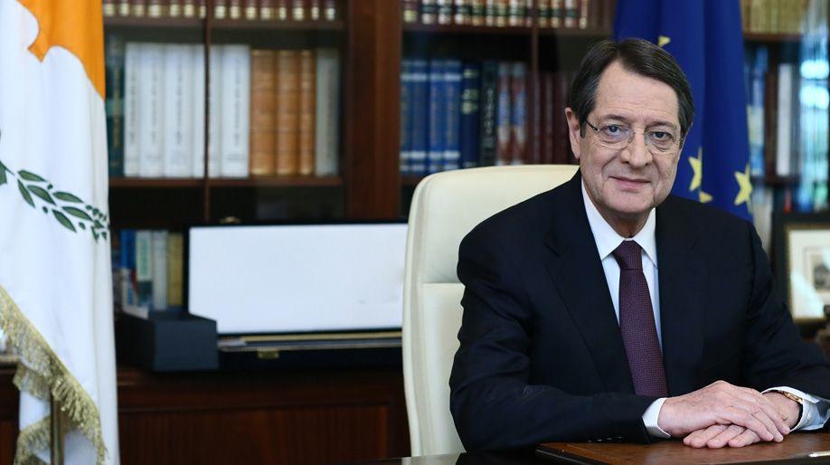 Χαιρετισμός Προέδρου Κυπριακής Δημοκρατίας κ.κ. Νίκου Αναστασιάδη για την εκδήλωση του Μελάθρου Οικουμενικού Ελληνισμού στις 24 Ιουνίου 2019 στην Κύπρο