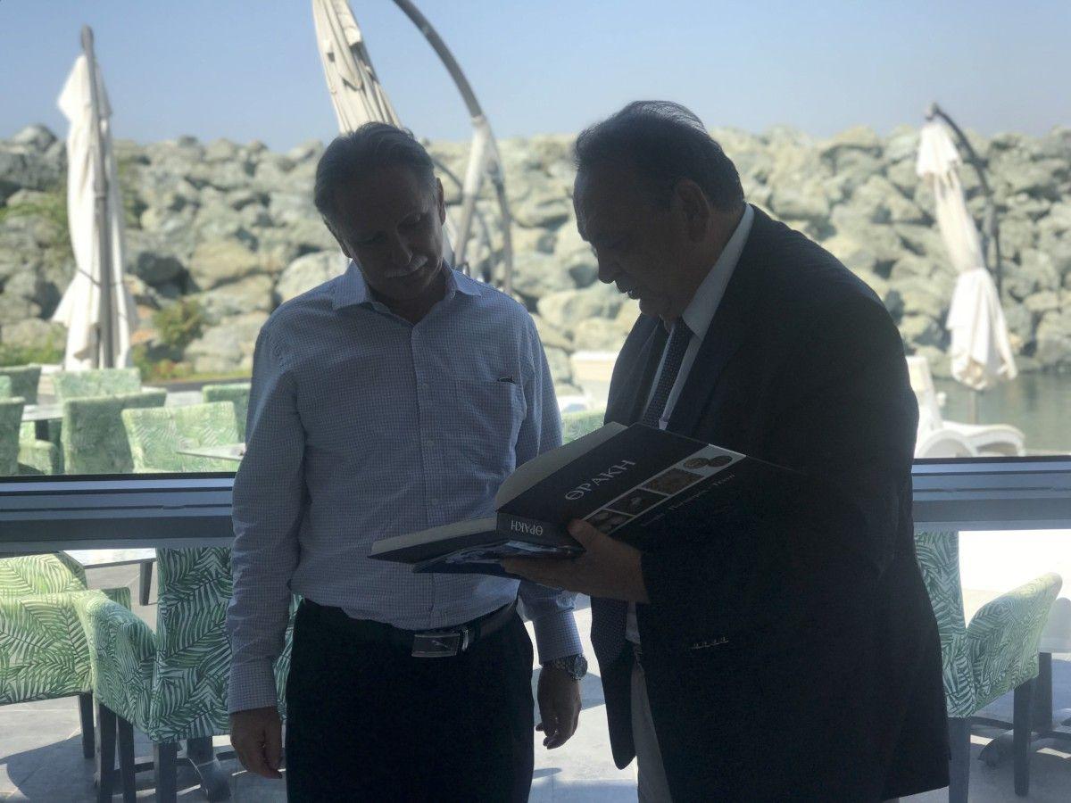 Επίσκεψη Προέδρου Μελάθρου Οικουμενικού Ελληνισμού στην Κύπρο